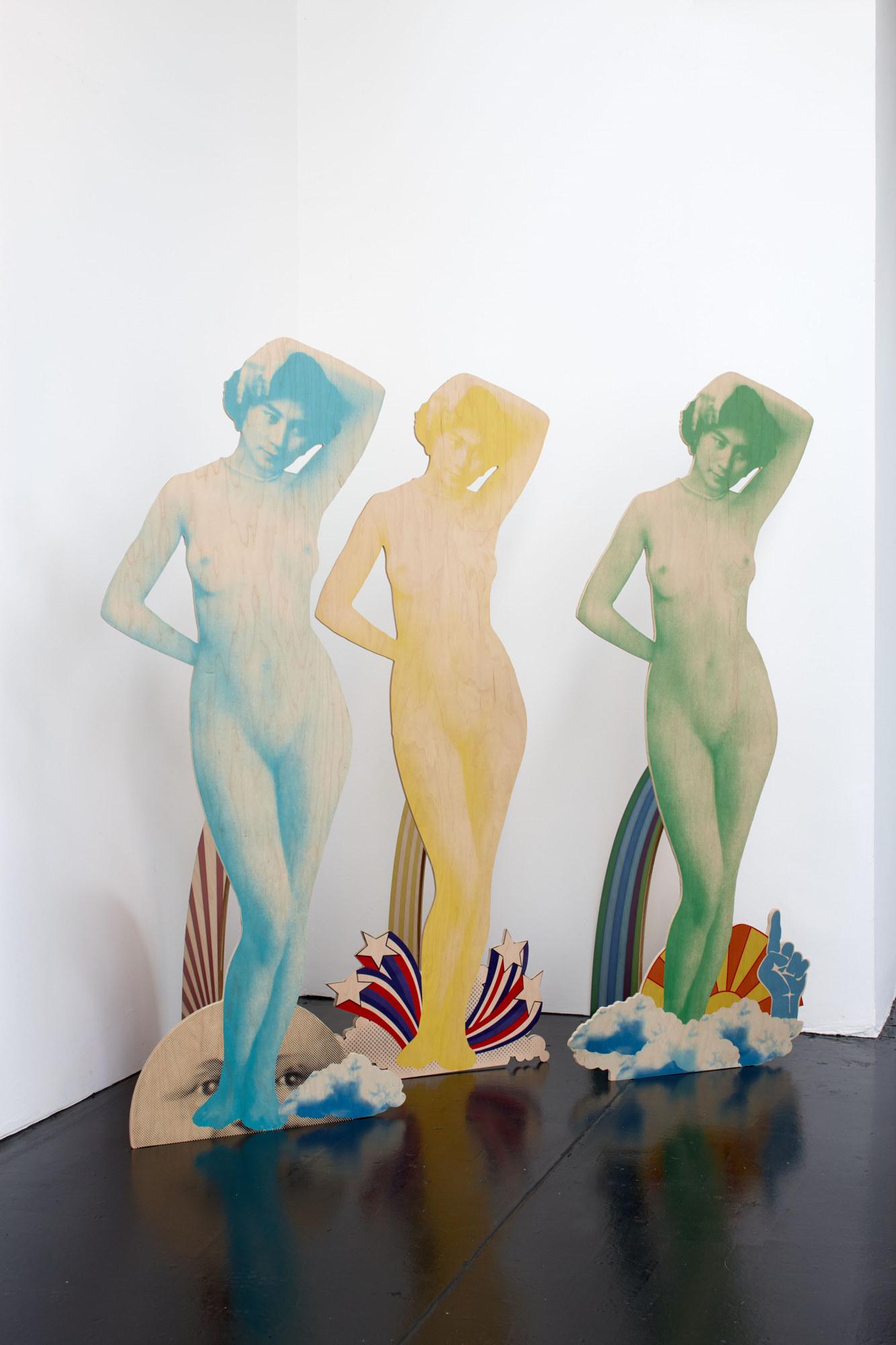 Jack Early - Fig Yoko, 2012 _ Banana Yoko, 2012 _ Honeydew Yoko, 2012 (a)