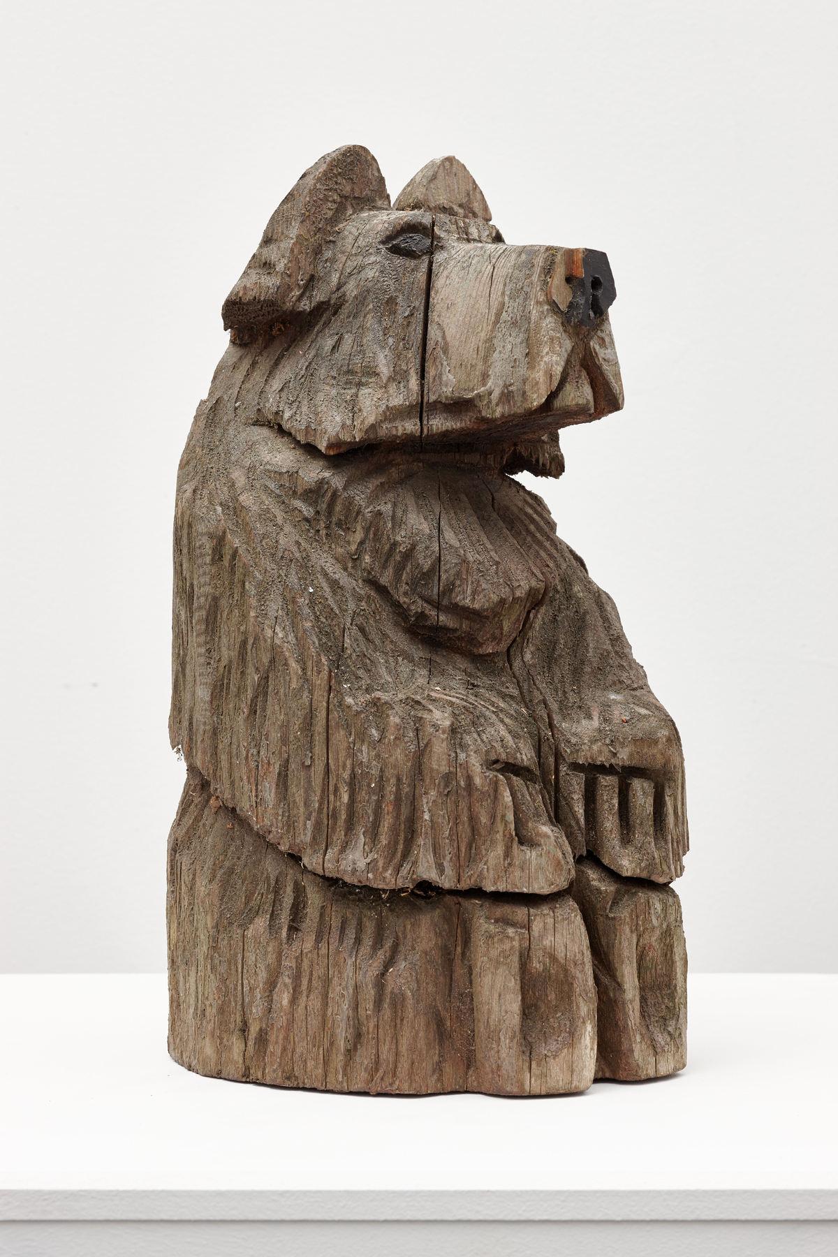 Lutz Bacher Bear 2 (detail), 2012