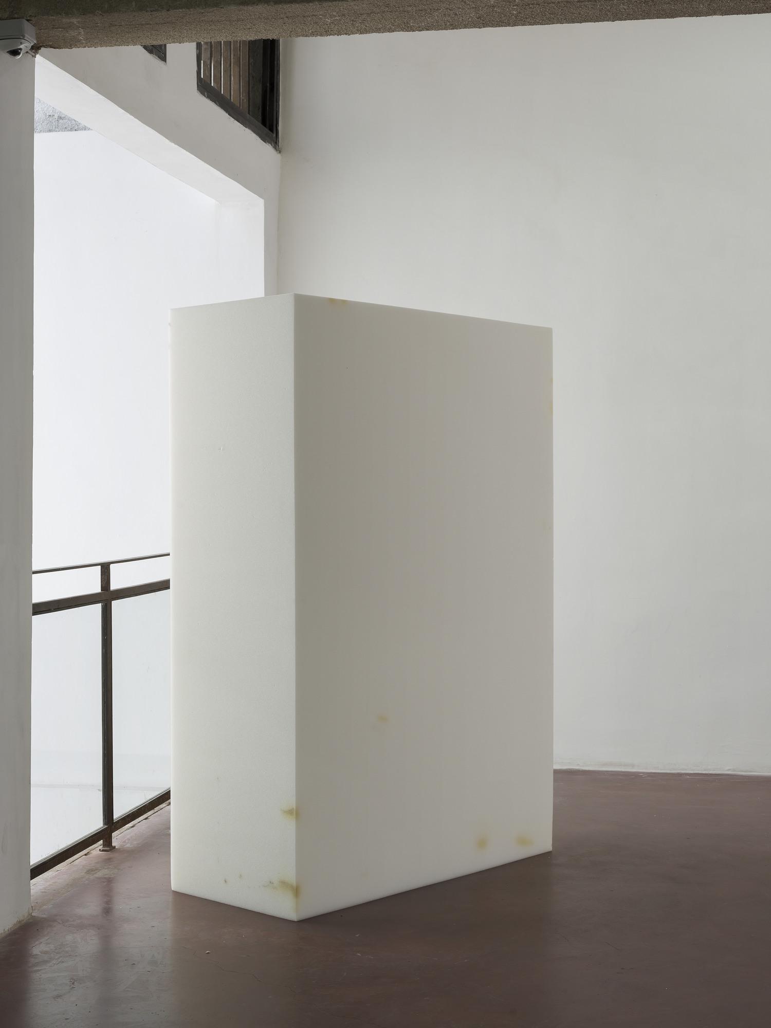 Miroslaw Balka, 200 x 140 x 60 , 2015, foam mattress, 200 x 140 x 60 cm, unique