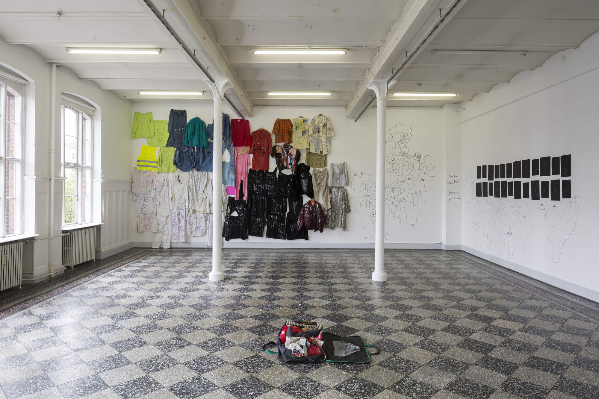 Vava Dudu. Le Poison, 2015. installation view. credit Torben Ekserod