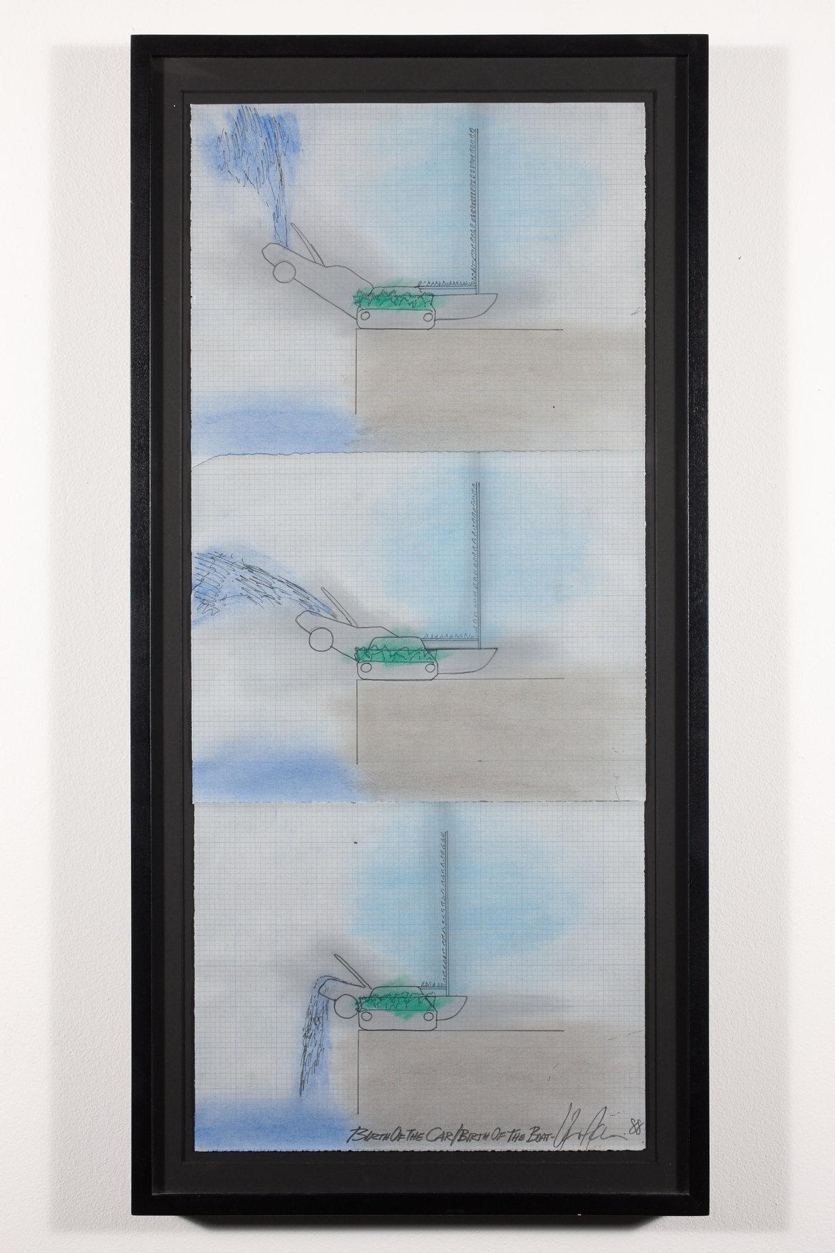 Vito Acconci - Birth of a Car _ Birth of the Boat, 1988