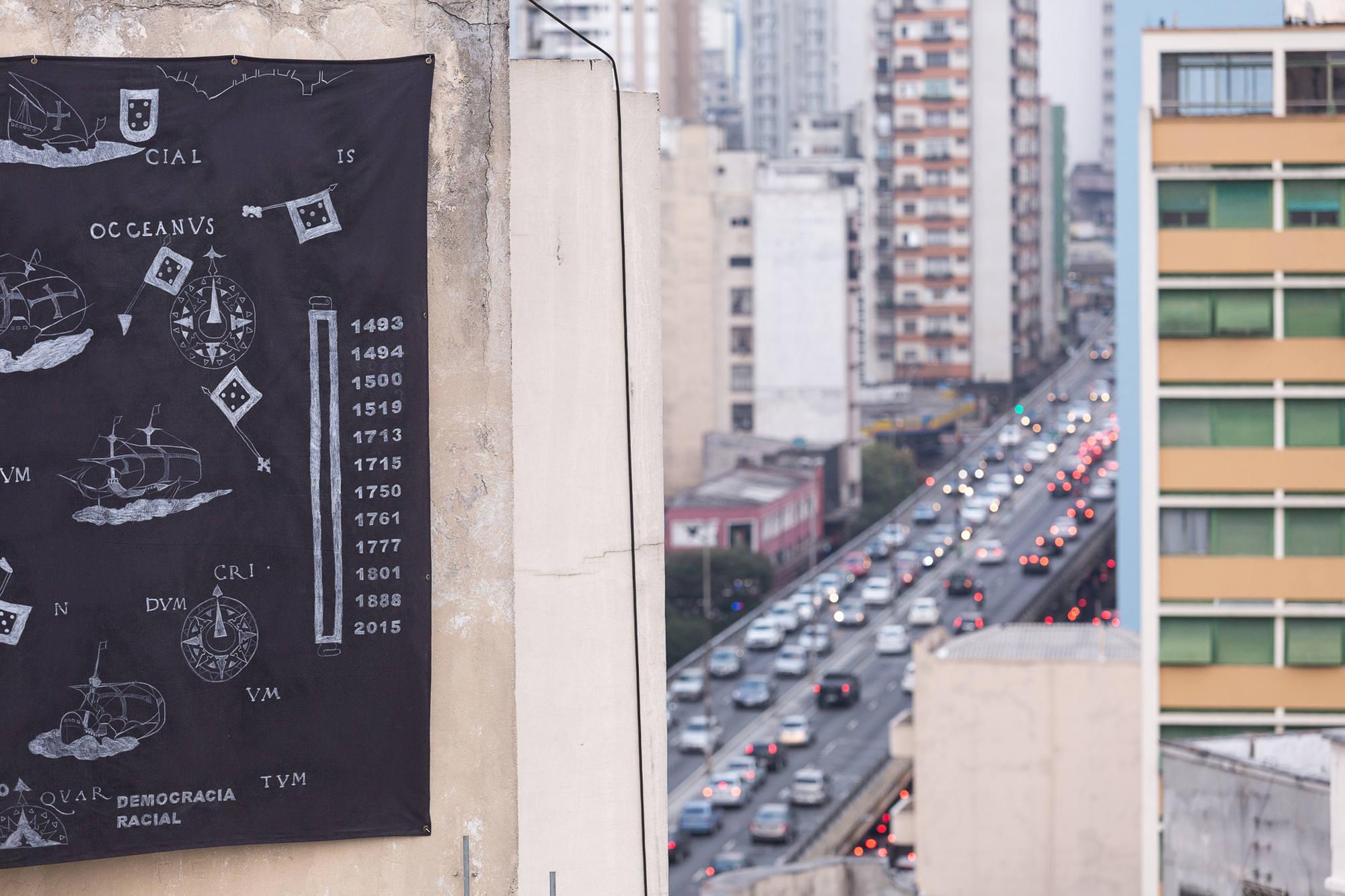 5 Observatório - Voragem da História - Jaime Lauriano, Terra Brasilis