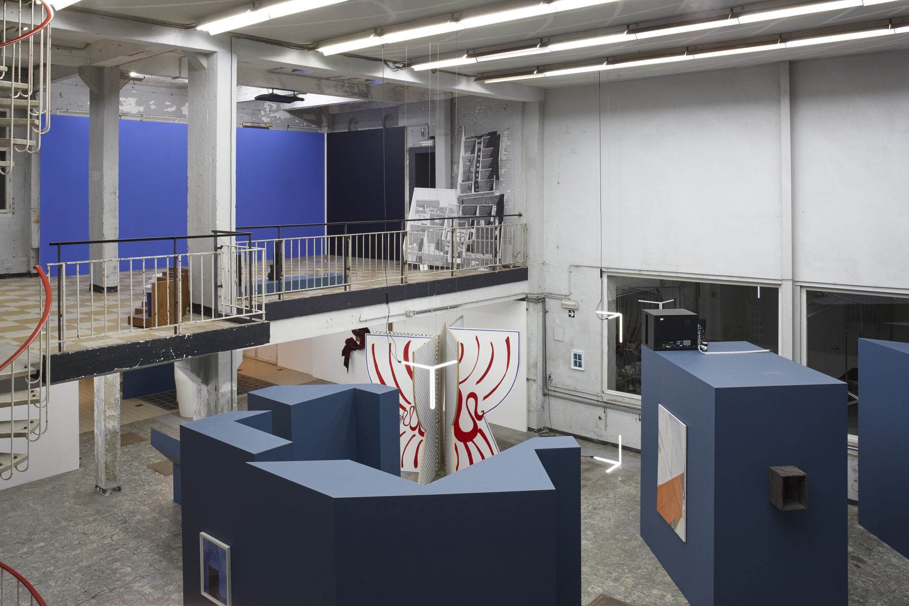 'The Corner Show', installation view, Extra City Kunsthal, 2015 © Jan Kempenaers466