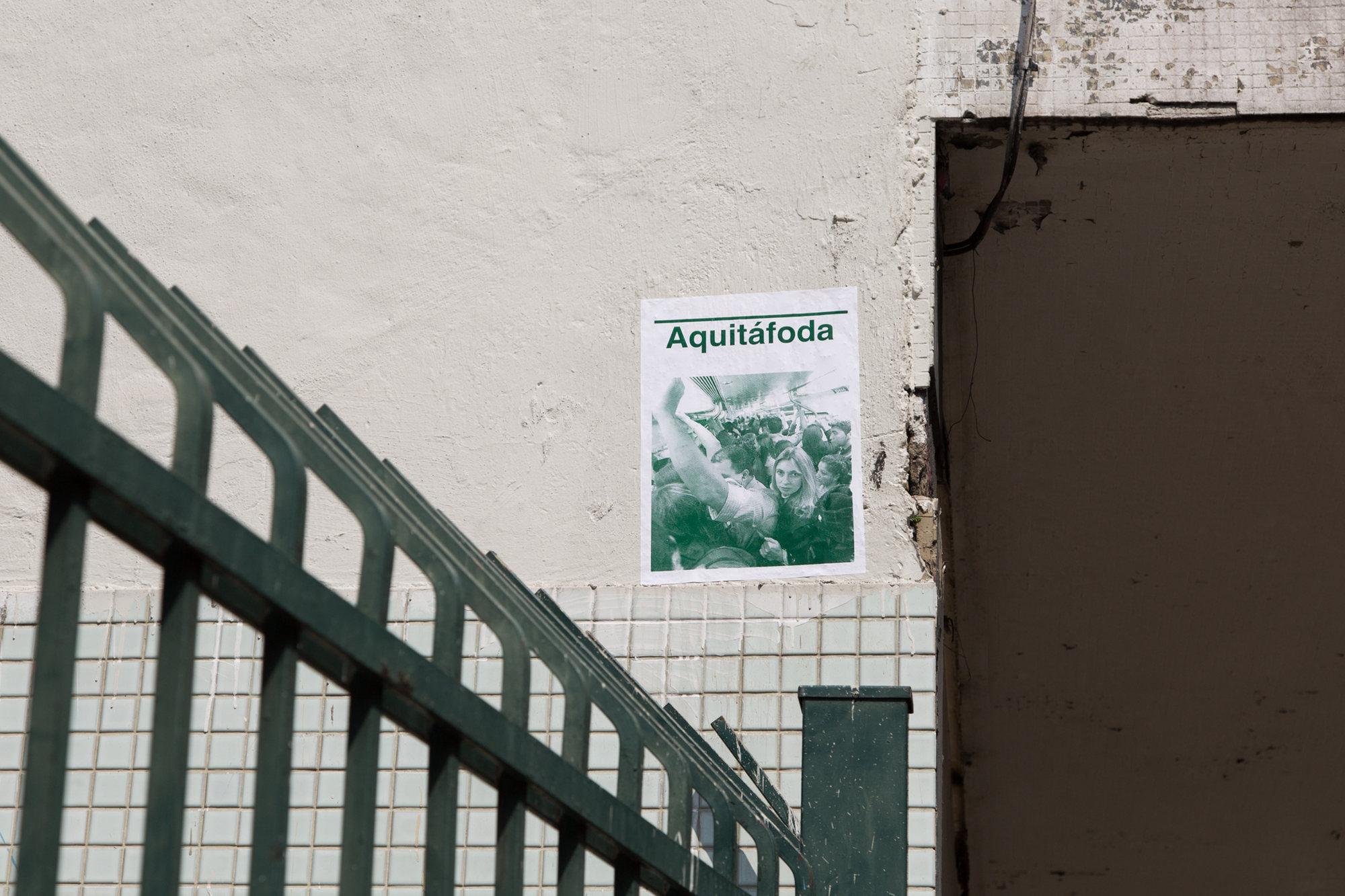 3 Observatório - Acareação - Bruno Baptistelli, Aquitáfoda I