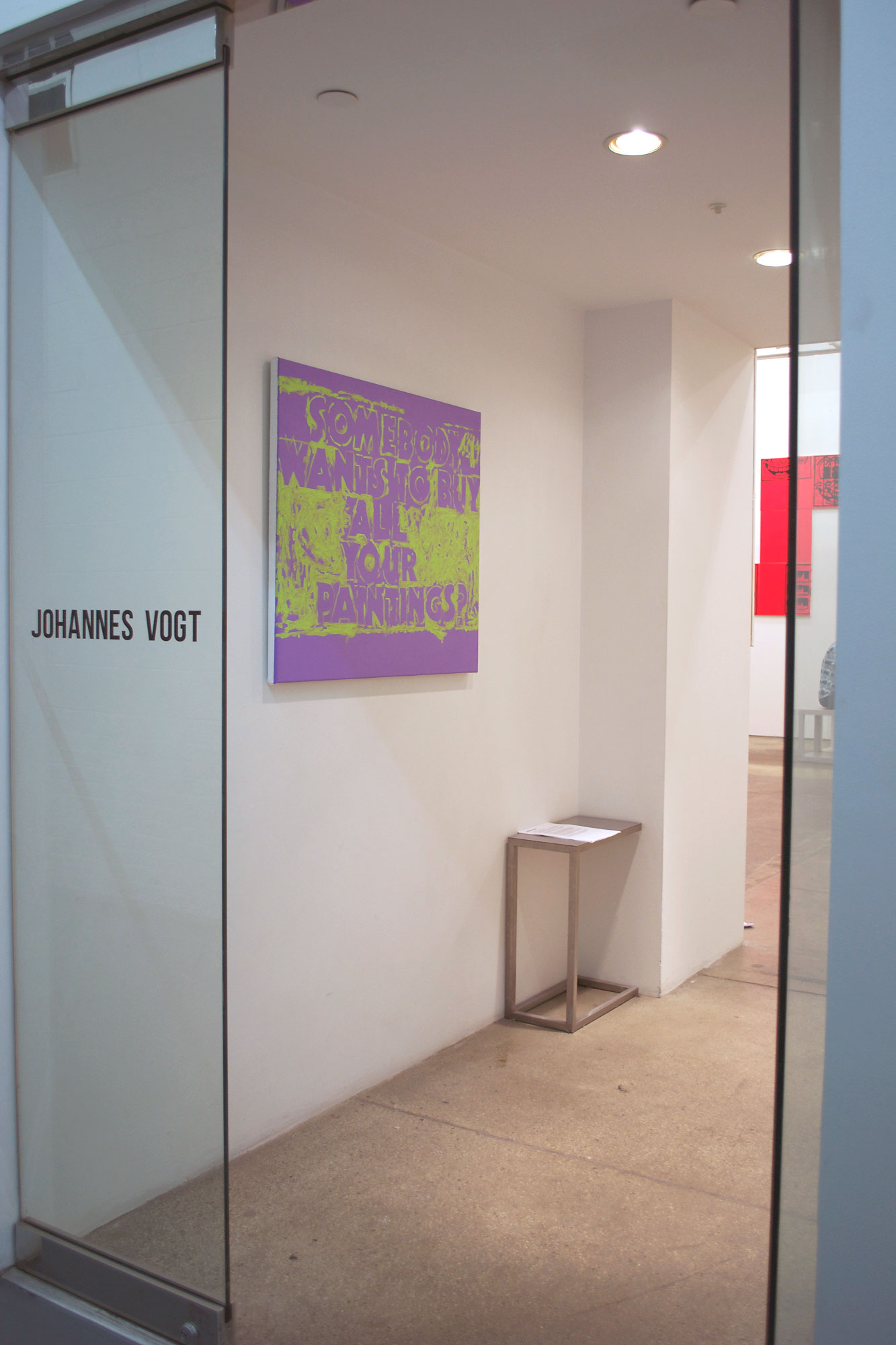 18 Michael Pybus IF IT WORKS, IT'S OBSOLETE @ Johannes Vogt 15 Oct - 14 Nov 2015