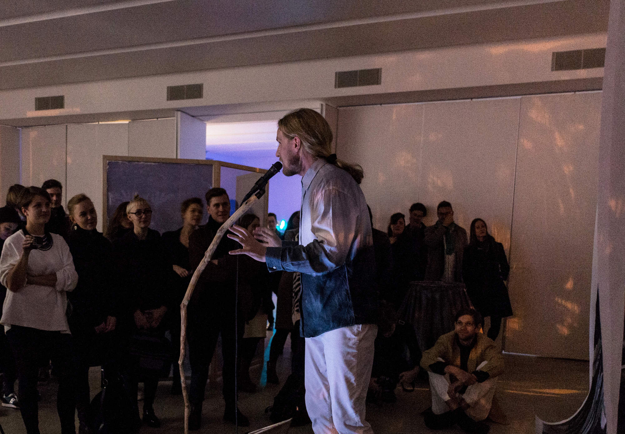 'Butterfly Blues', Styrmir O¦êrn Gu+¦mundsson, 2015, performance 2