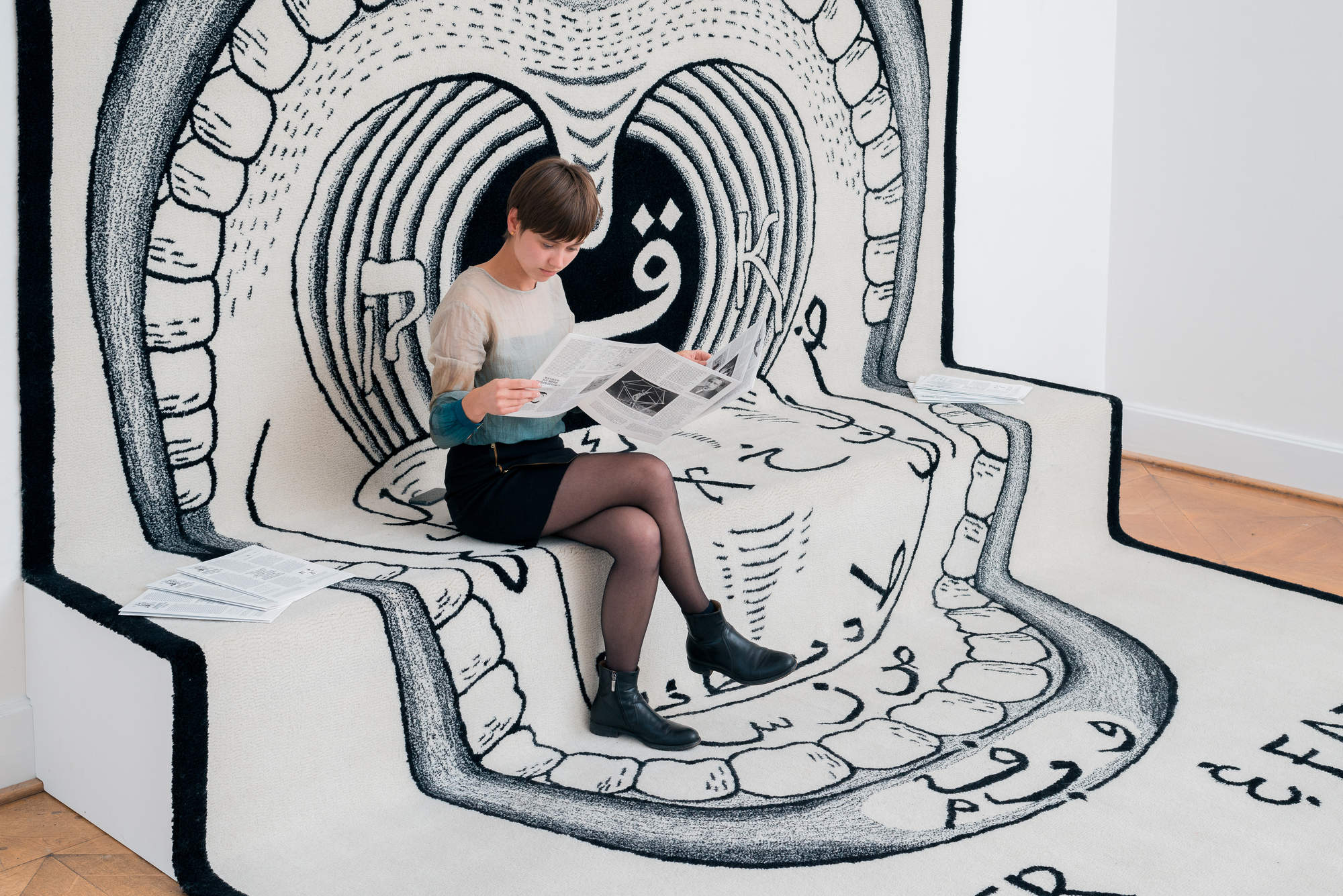 Open House at Kunstverein Braunschweig_Slavs and Tatars 2