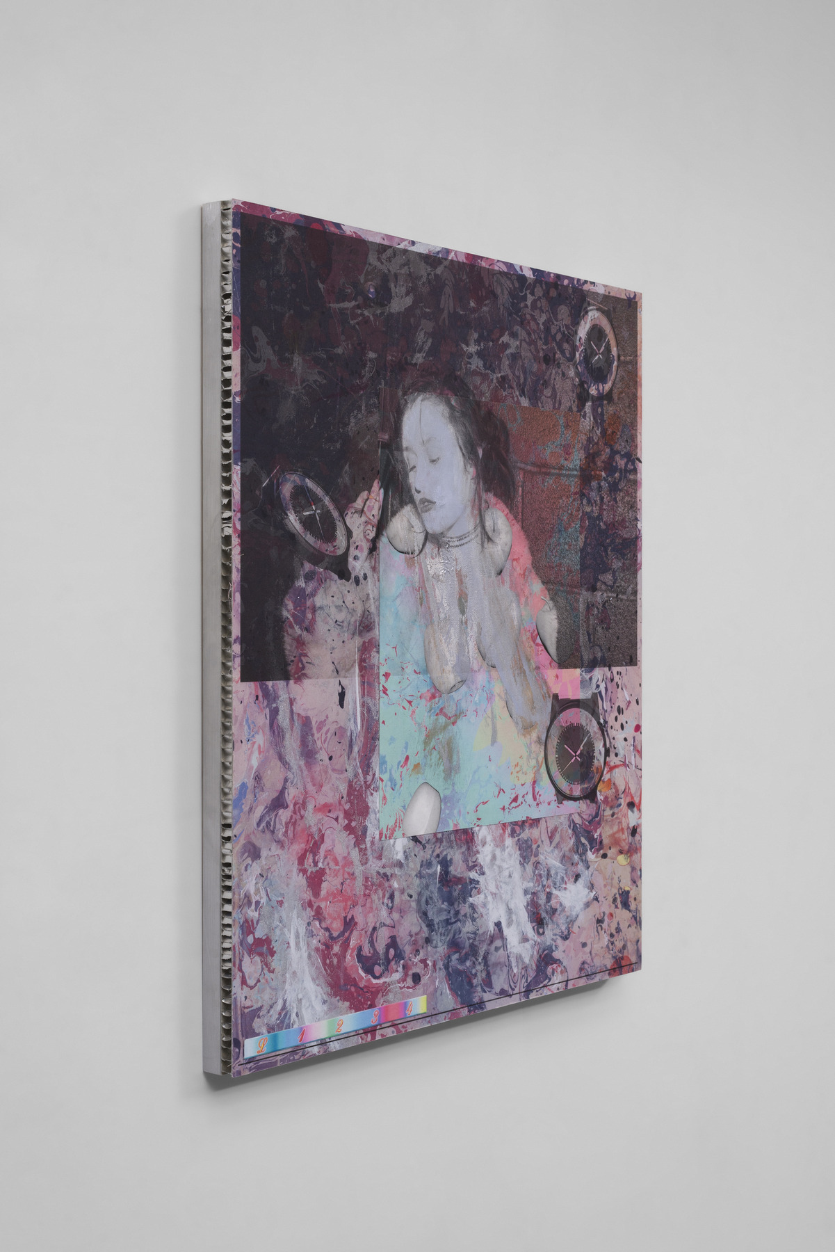 21. Mull_Theoretical Children (Luna Miu), 2015_K3 ink, ultra-violet ink and acrylic on cotton mounted on honeycomb aluminum_26x21 in_side view