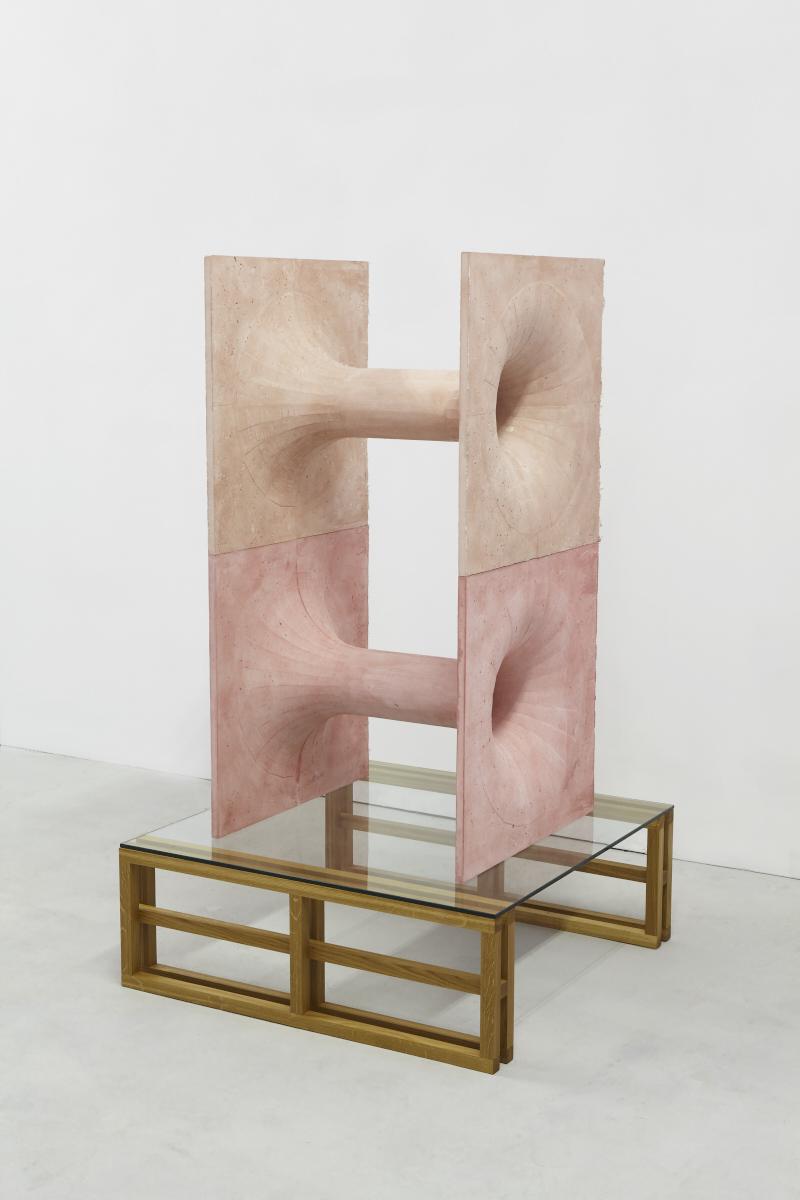 57.Hoeber_Brutalist Organs, 2015_Sculpture-Fiberglass