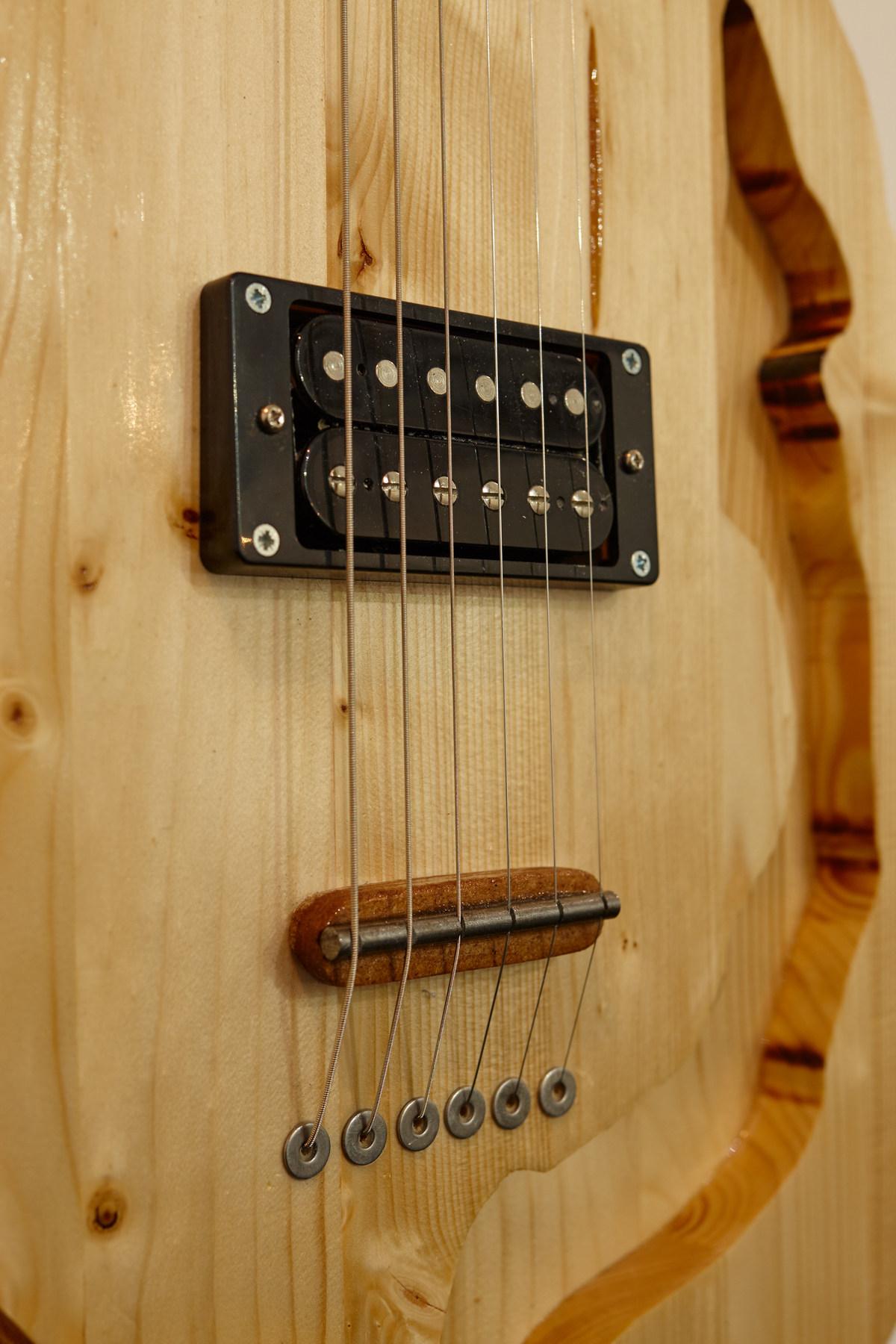Flavio Merlo - Guitar IV, (detail) 2015(i)