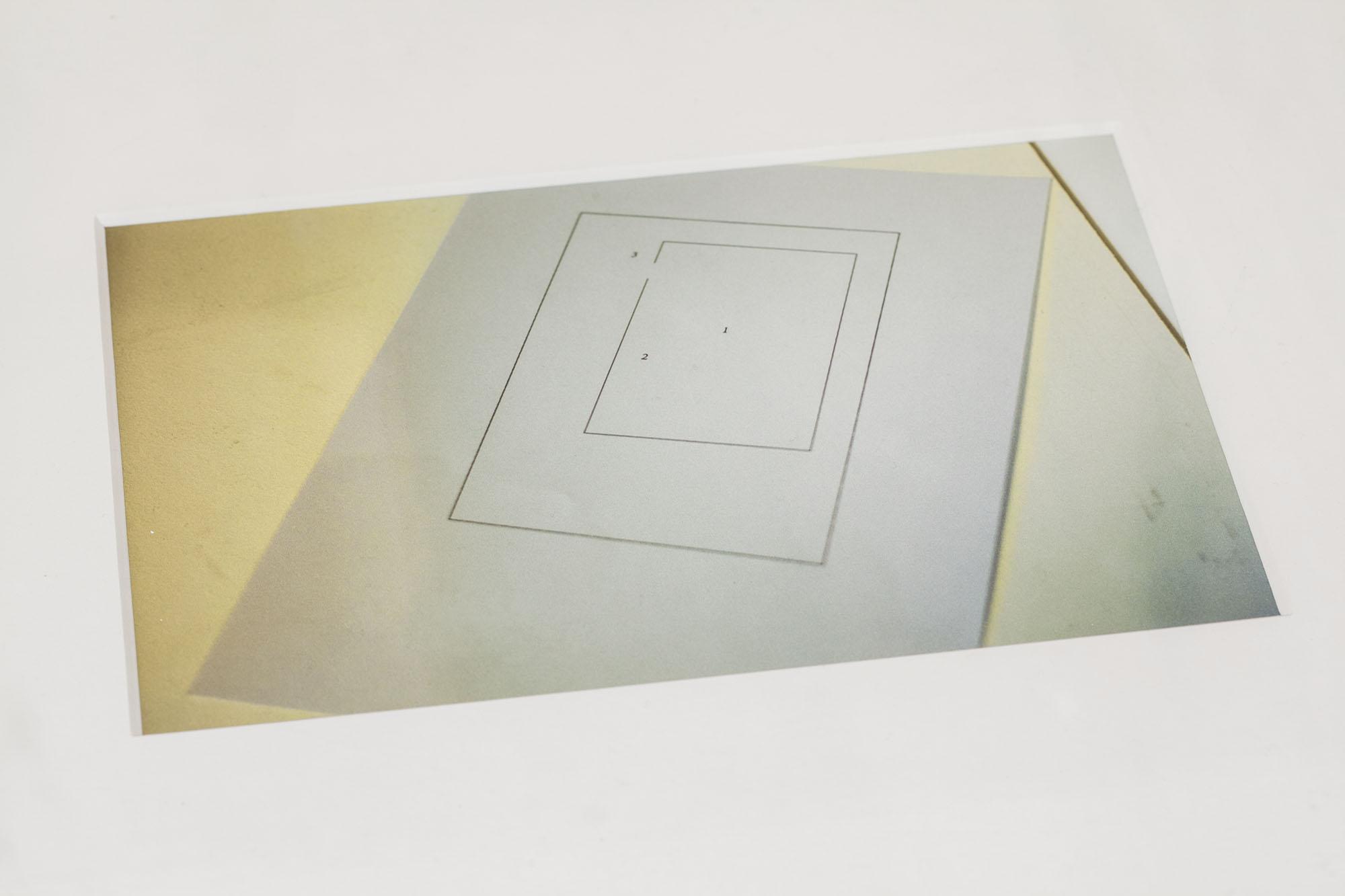 """Martin Widmer, """"Plan Annexe"""" détail, 2015"""