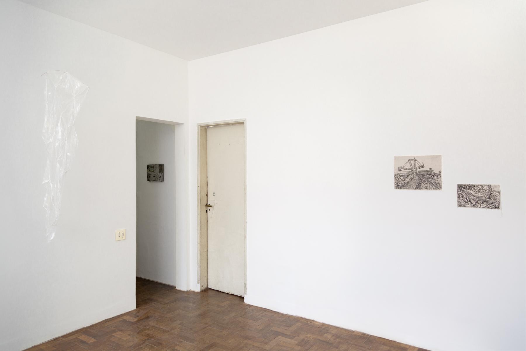 28 Observatório - Hipótese e Horizonte - Vista da exposição