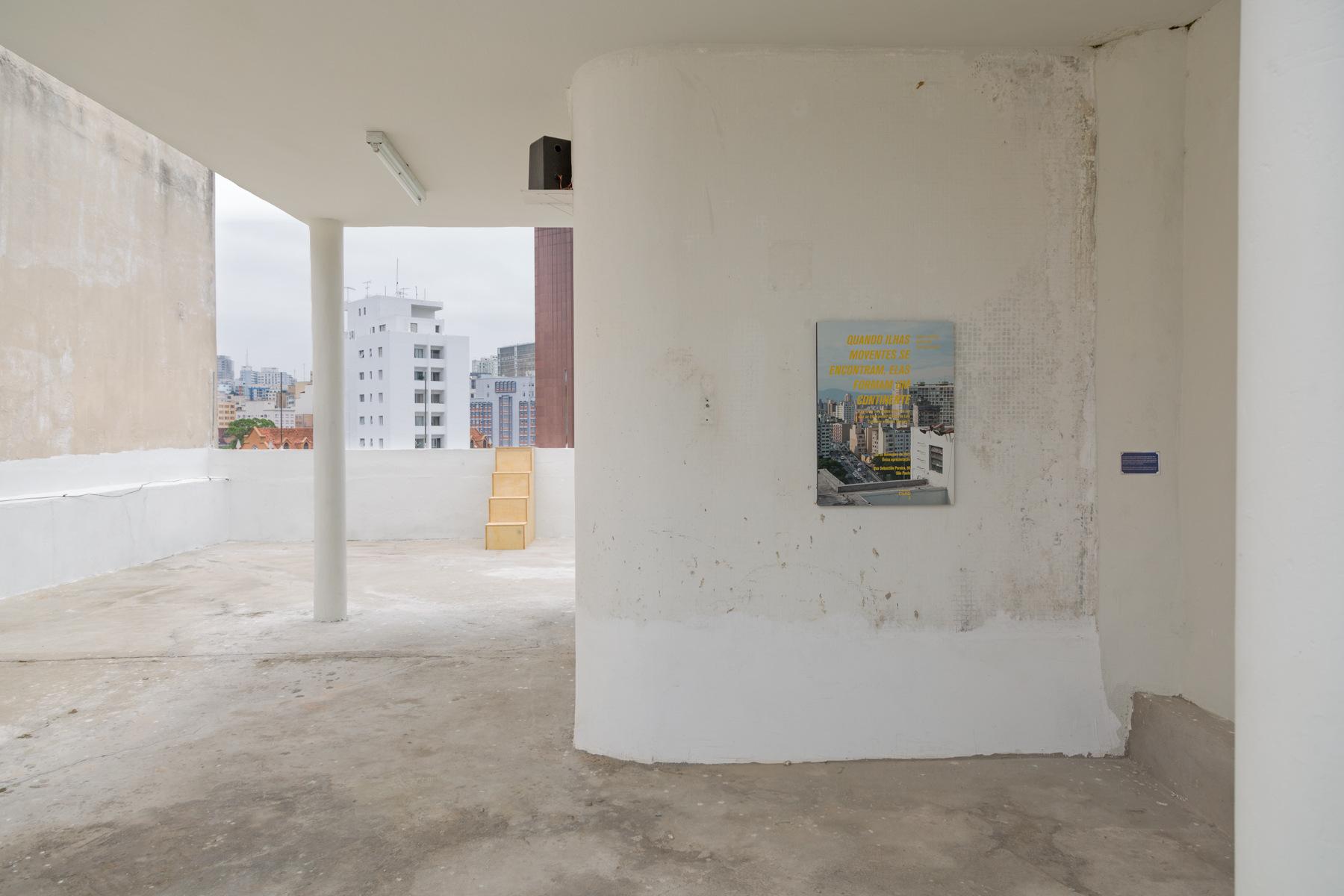 5 Observatório - Hipótese e Horizonte - Vista da exposição