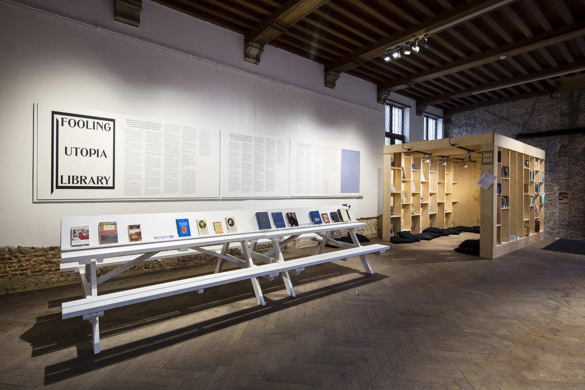 Fooling Utopia Library (c) Kristof Vrancken