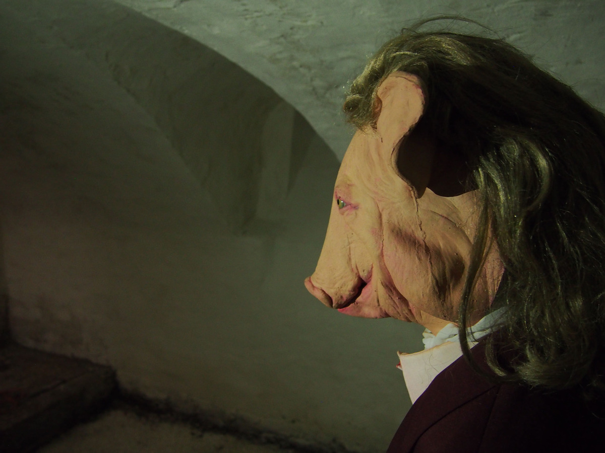 Marnie Weber, (detail),sea of silence, 2009-2