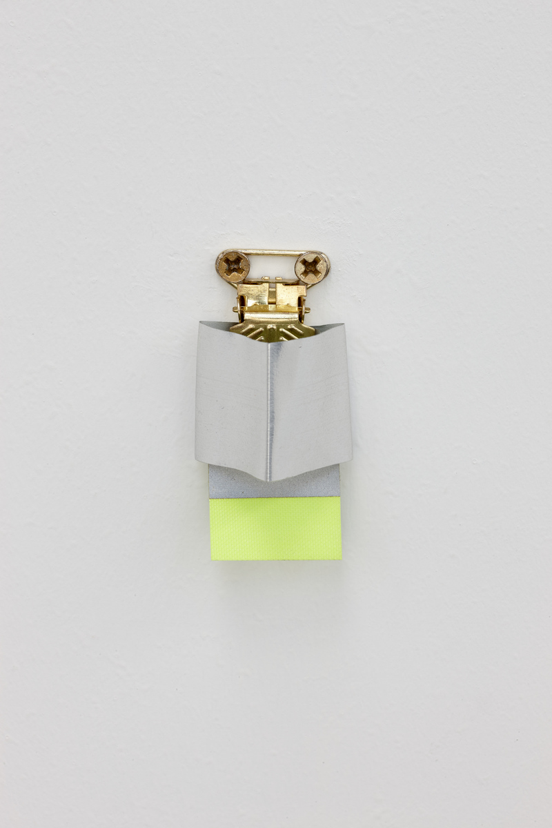 02. Michael Ross - Flexible Materials for Gas and Light in a Suspender Clip (to Marvel and Reflect Softly), 1994