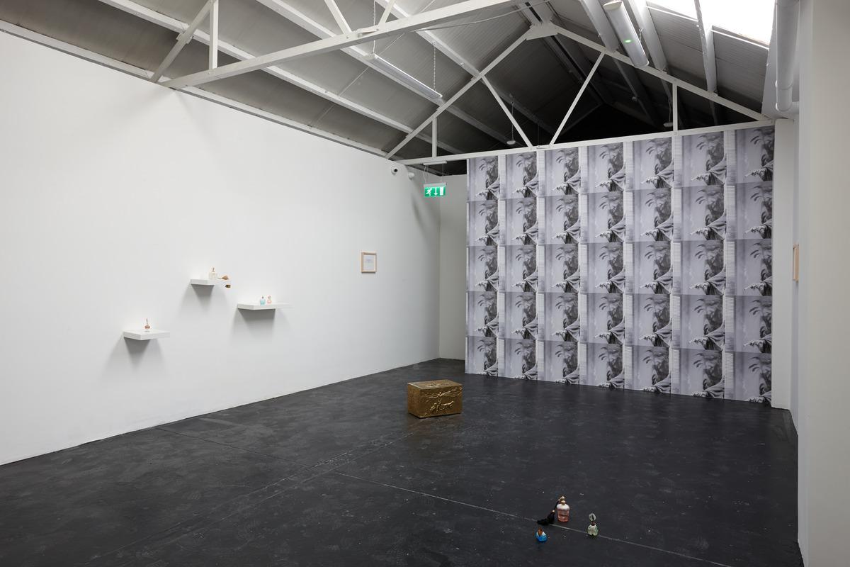 Siera Hyte - The sometimes hour - Ellis King - Installation View I
