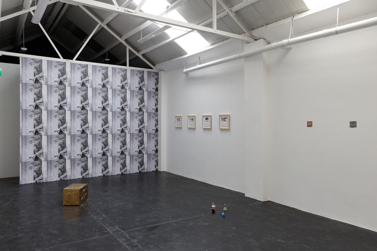 Siera Hyte - The sometimes hour - Ellis King - Installation View II