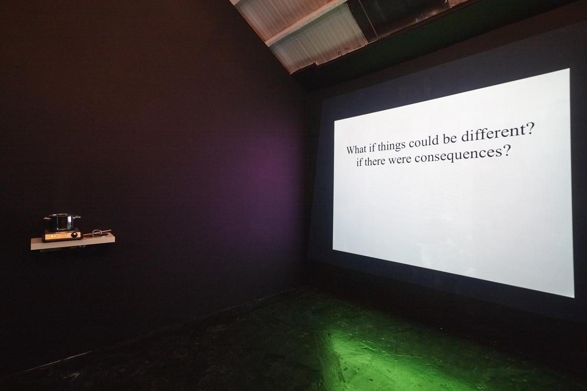 Siera Hyte - The sometimes hour - Ellis King - Installation View V copy