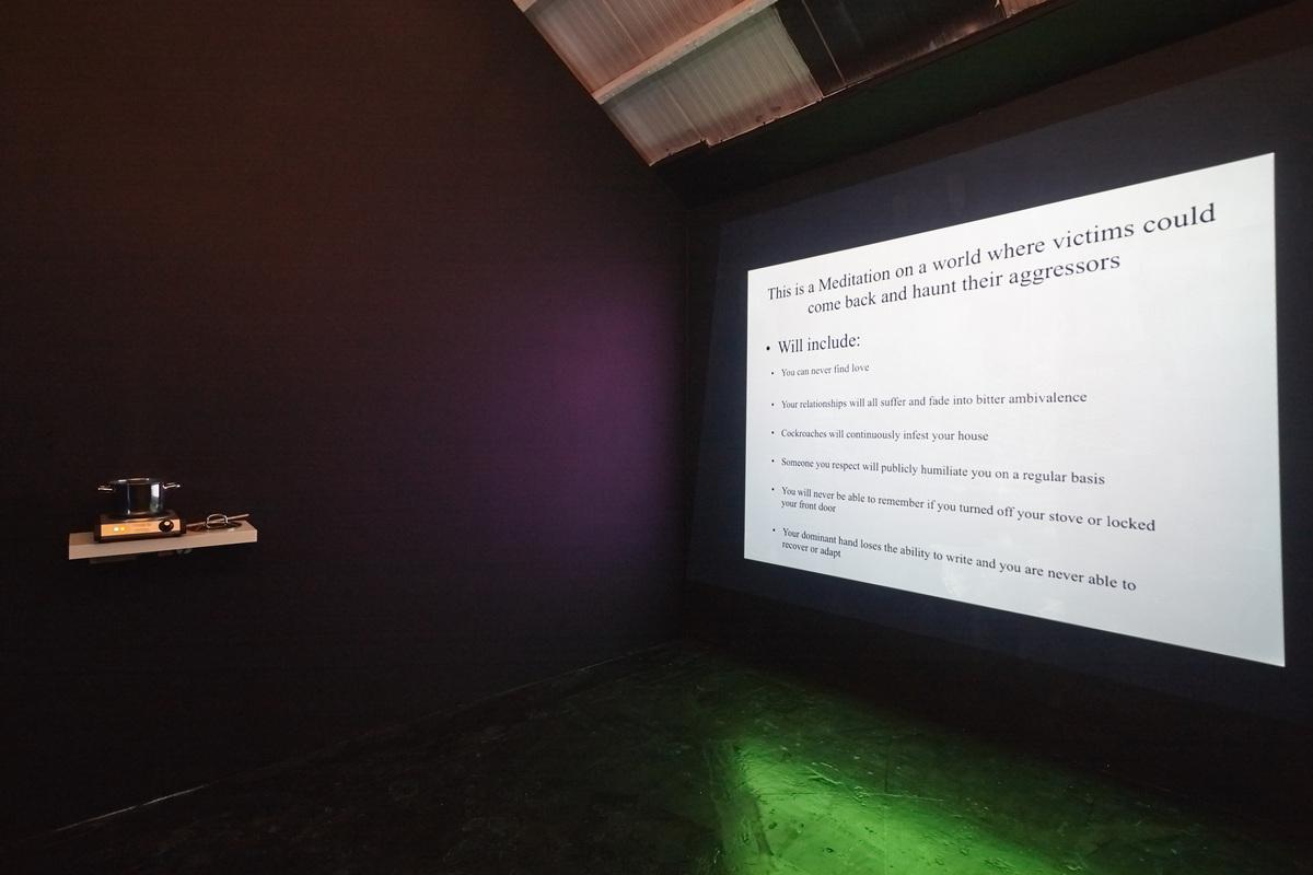 Siera Hyte - The sometimes hour - Ellis King - Installation View VI copy