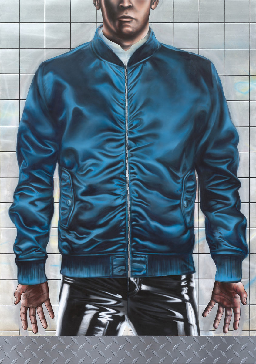 Boi A - Acryl auf Leinwand, 220 × 155 cm, 2015