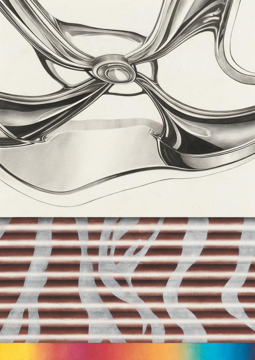 Roto - Öl auf Papier, 70 × 50 cm, 2015