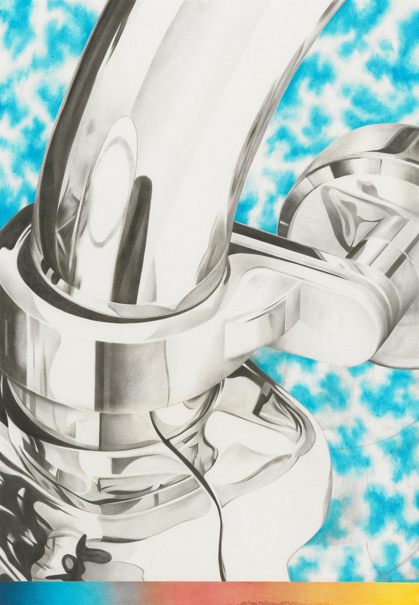 Arma - Öl auf Papier, 50 × 35 cm, 2015