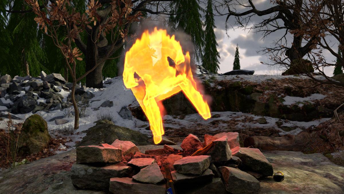 11.Fire Gazing, Rustan Soderling. Tenderpixel, Feeling in the Eyes