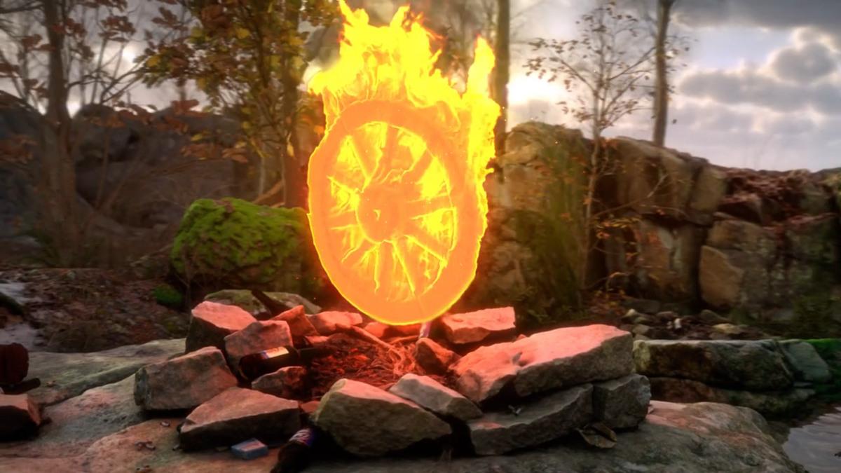 12.Fire Gazing, Rustan Soderling. Tenderpixel, Feeling in the Eyes