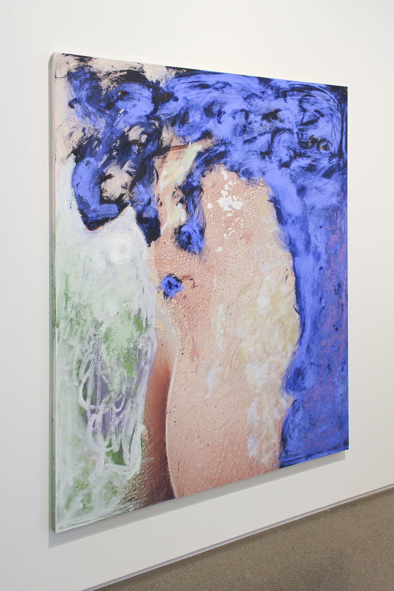 Donna Huanca at Peres Projects 02