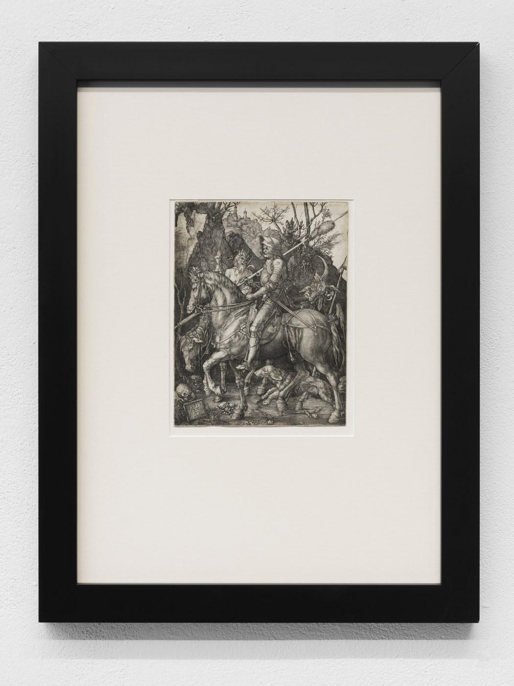 10. Albrecht Durer - Knight Death, and the Devil, 1513
