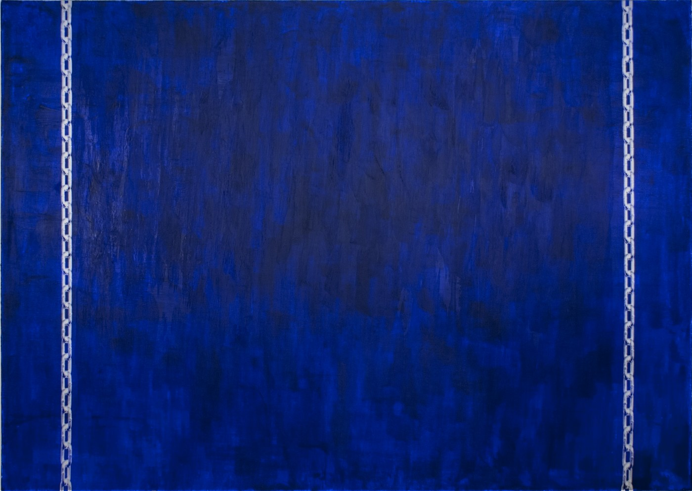BN - Hanging by Chains (blue), 2014