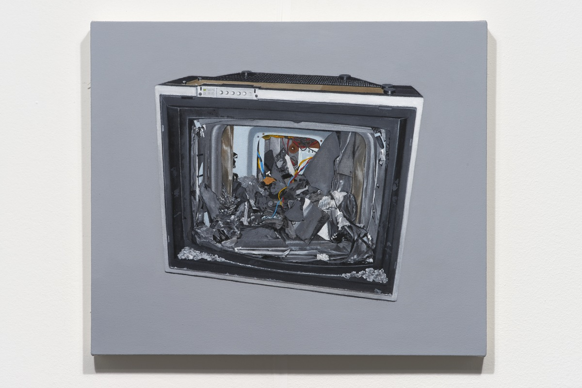 Butler_Television II, 2014_22 x 26 in._LB00070PNT