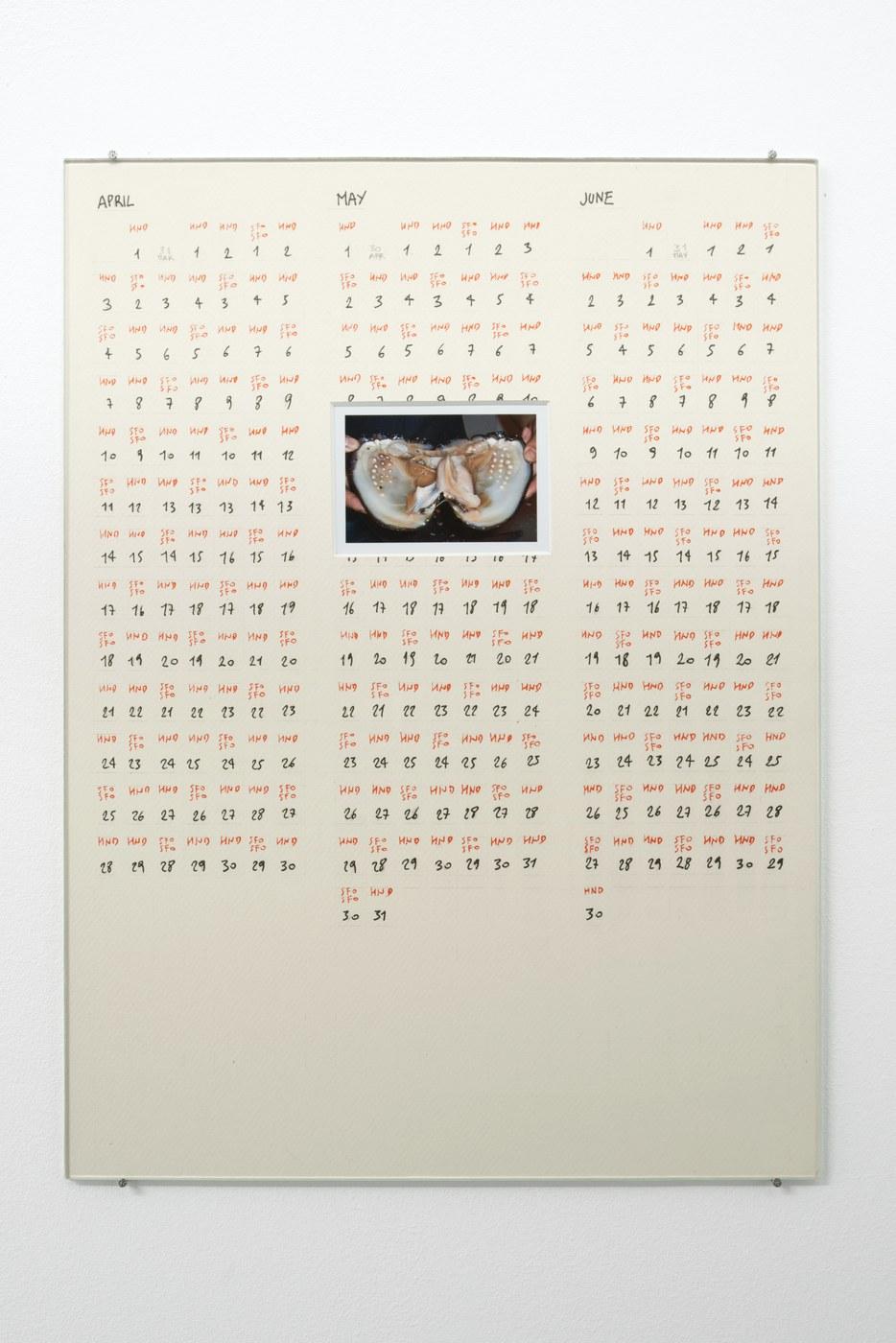 Raffaella Crispino_Tokyo-San Francisco_Calendar 2