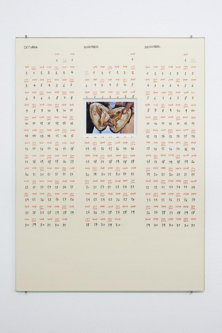 Raffaella Crispino_Tokyo-San Francisco_Calendar 4