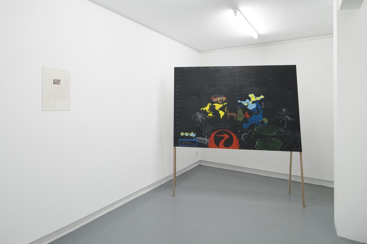 Raffaella Crispino_Tokyo-San Francisco_installation view 2