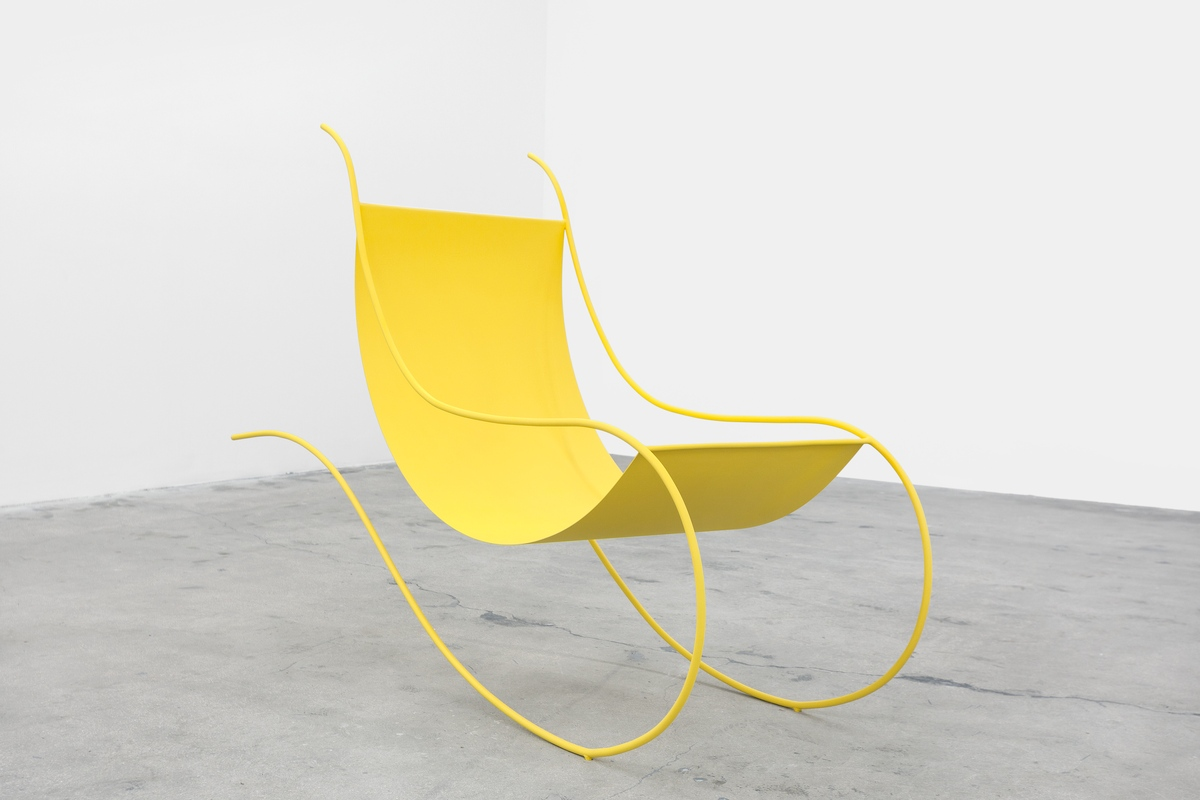 3_Bass_Rocking Chair Yellow_2016_50x62x22