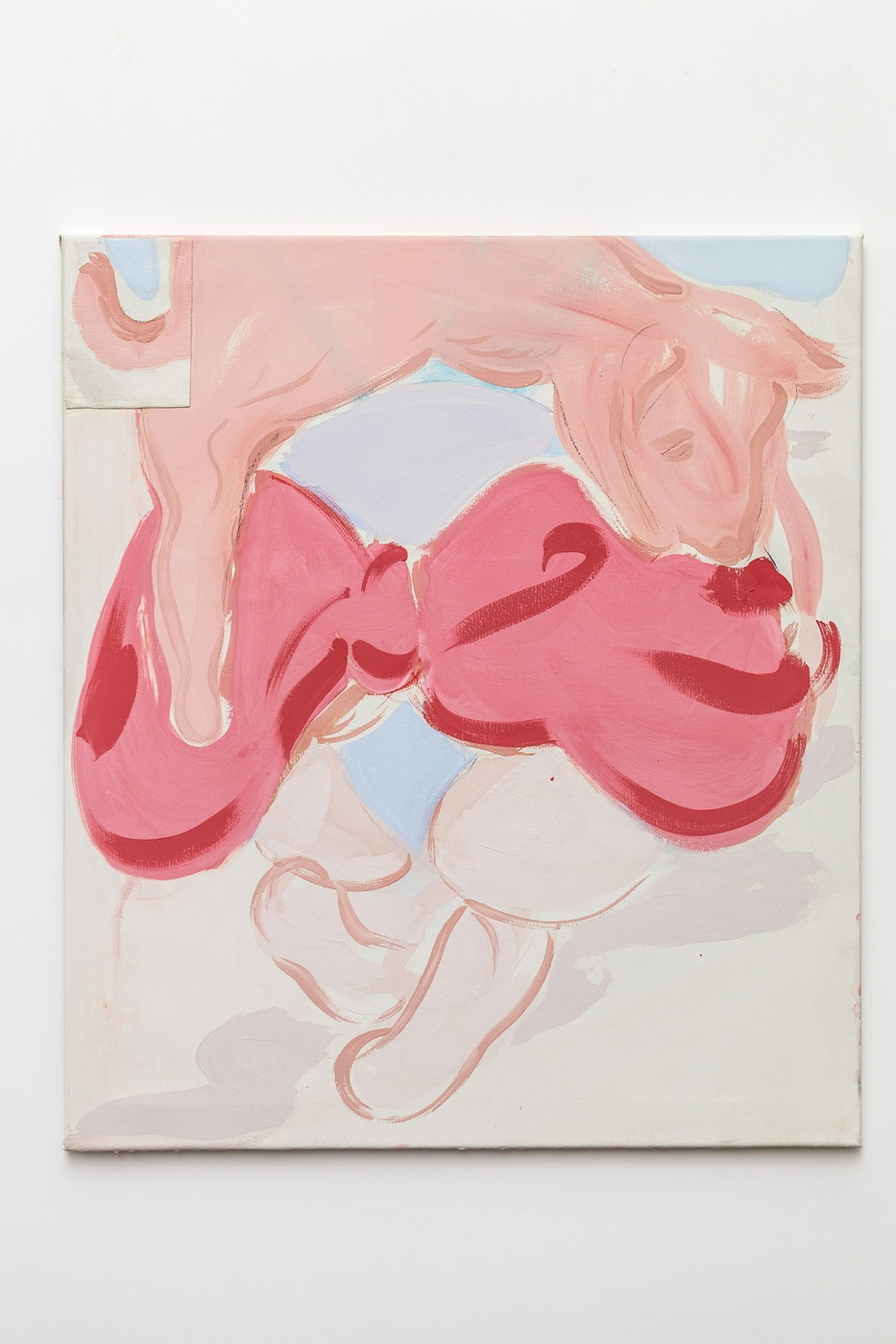 Grant Foster The Porc 2016, 80x70 cm
