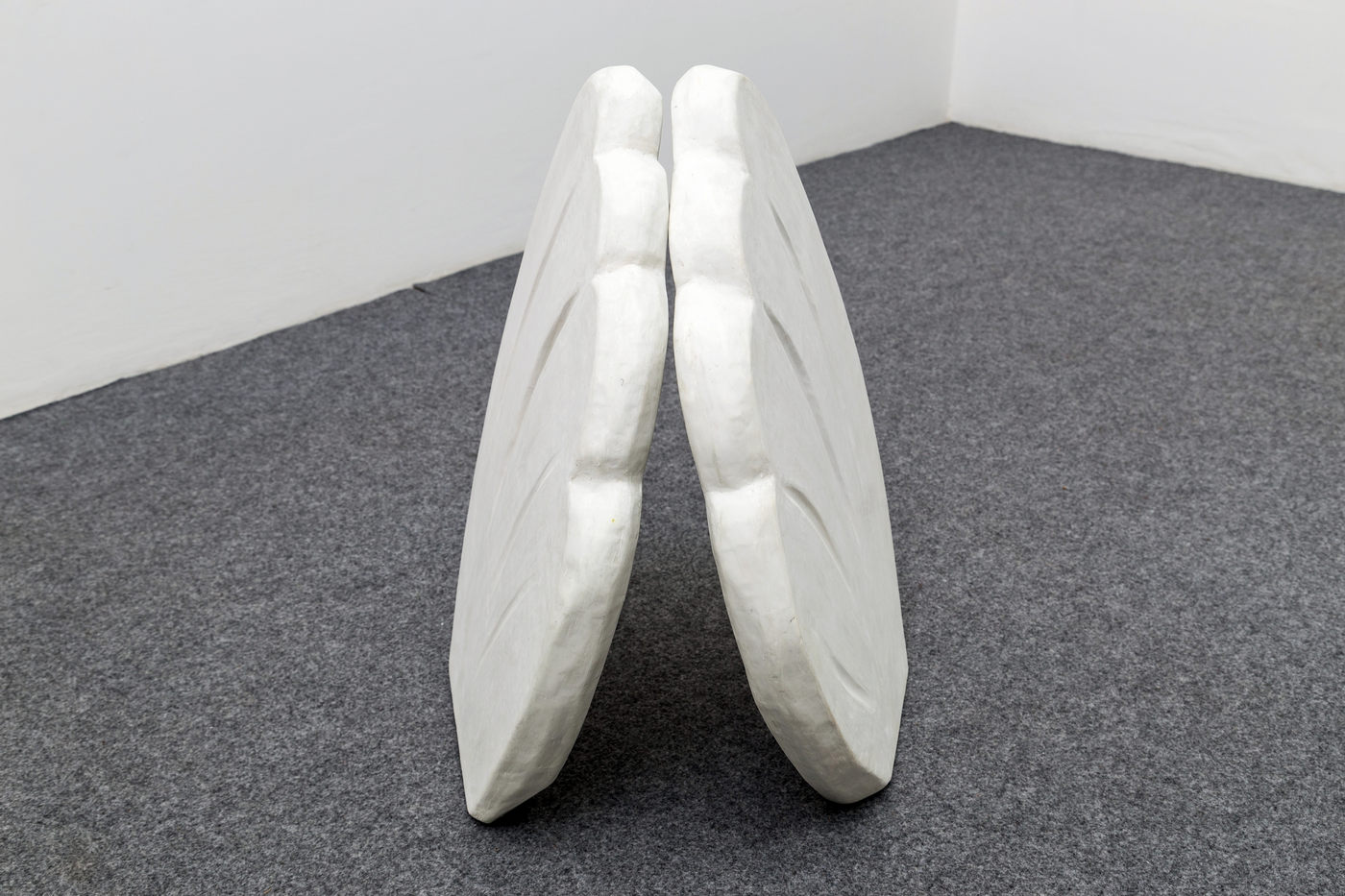 Grant Foster Wings 64x40x40cm 2016 caulk, glue, paper, polystyrene