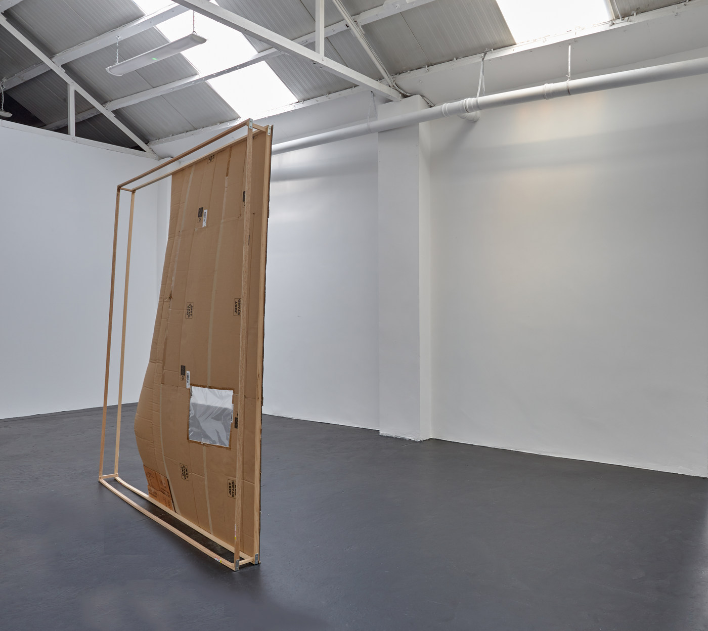 01. Bernhard Hegglin - Bar de Ligne - Installation View I