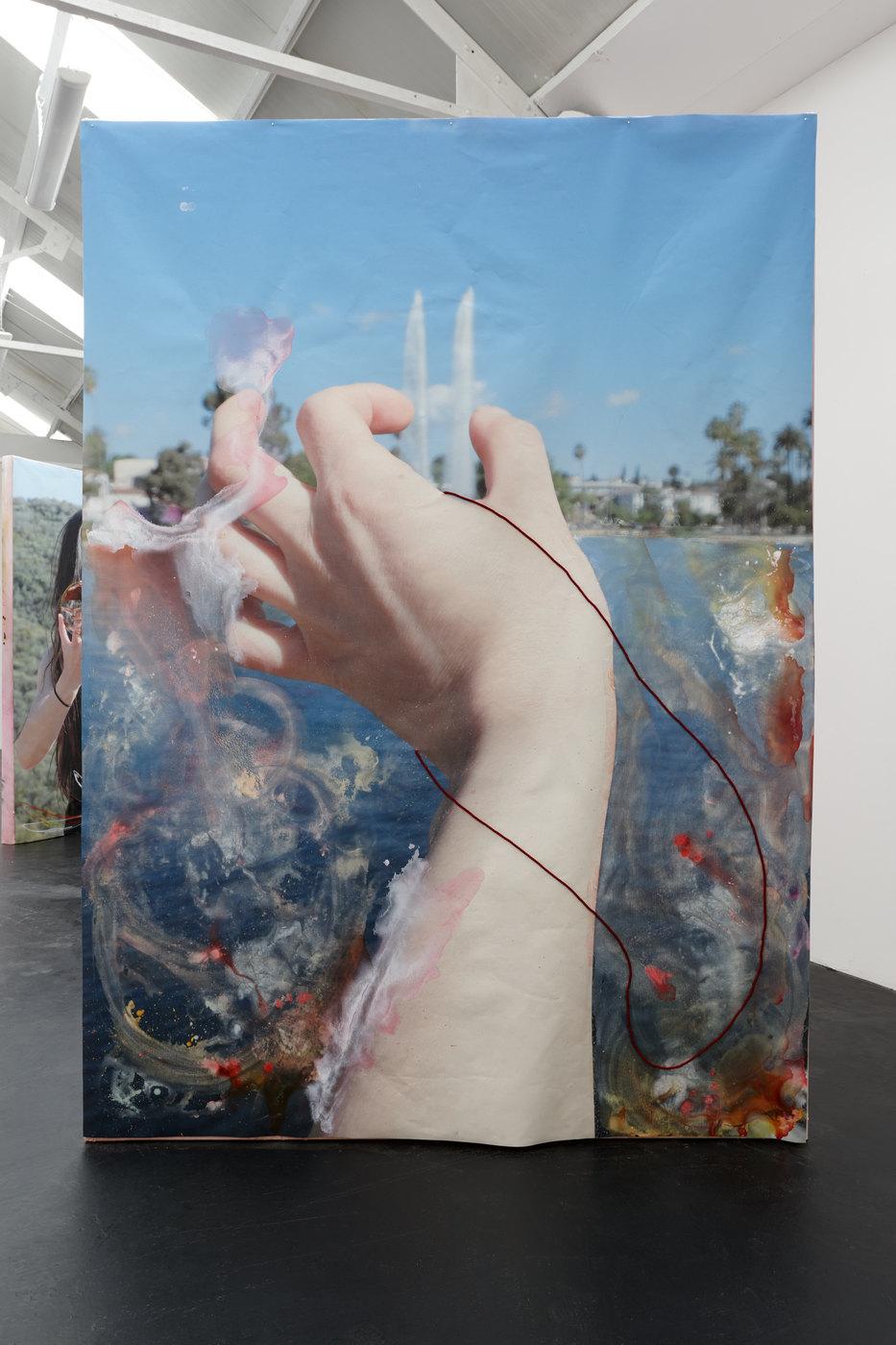 03. Nora Berman - Rising Stick (Echo Park pinch), 2016 (ii)