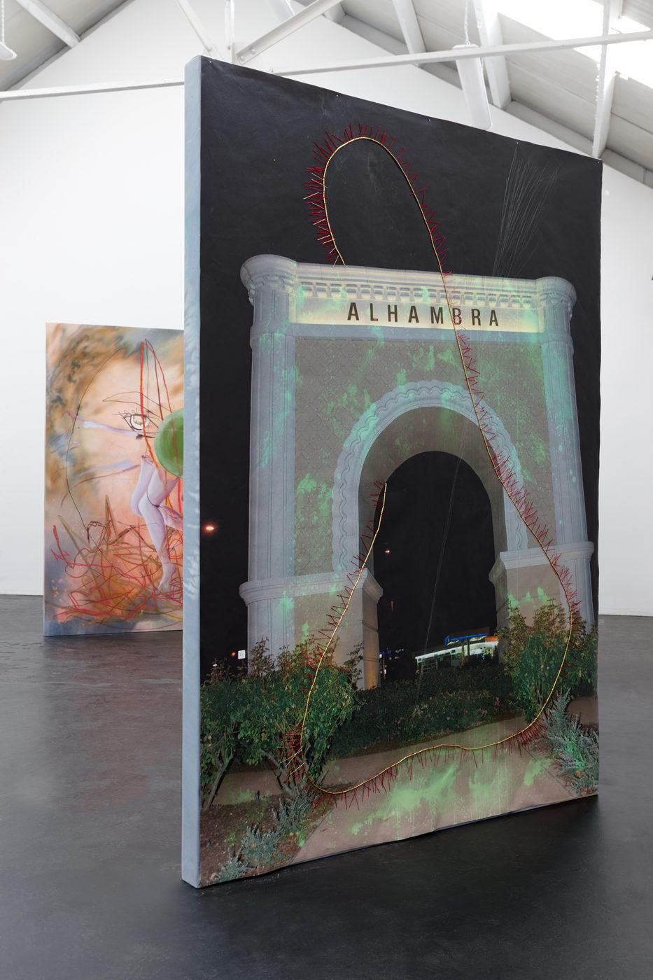 06. Nora Berman - Caught flower (Alhambra arch), 2016 (ii)