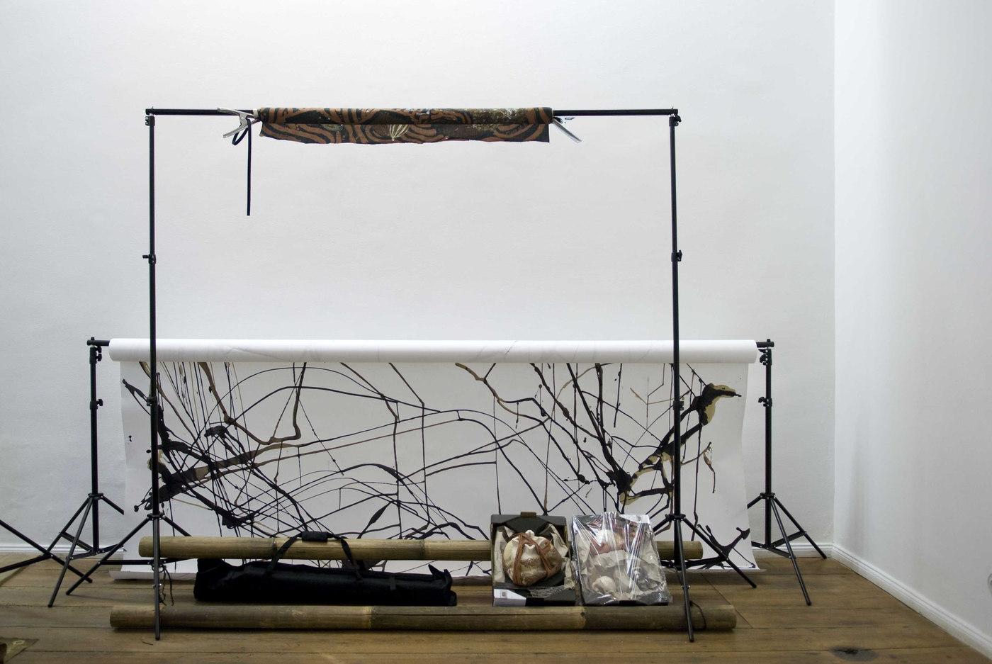 Ada Van Hoorebeke, Where Batik Belongs, 2016, installation view at Grimmuseum (7)