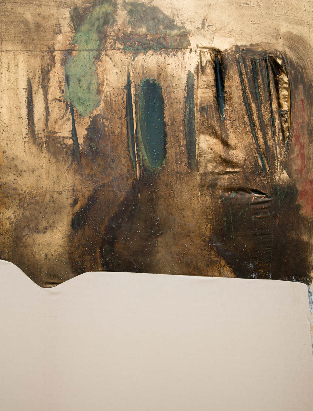 Erica Mahinay - Gilded (reservoir) (Detail)