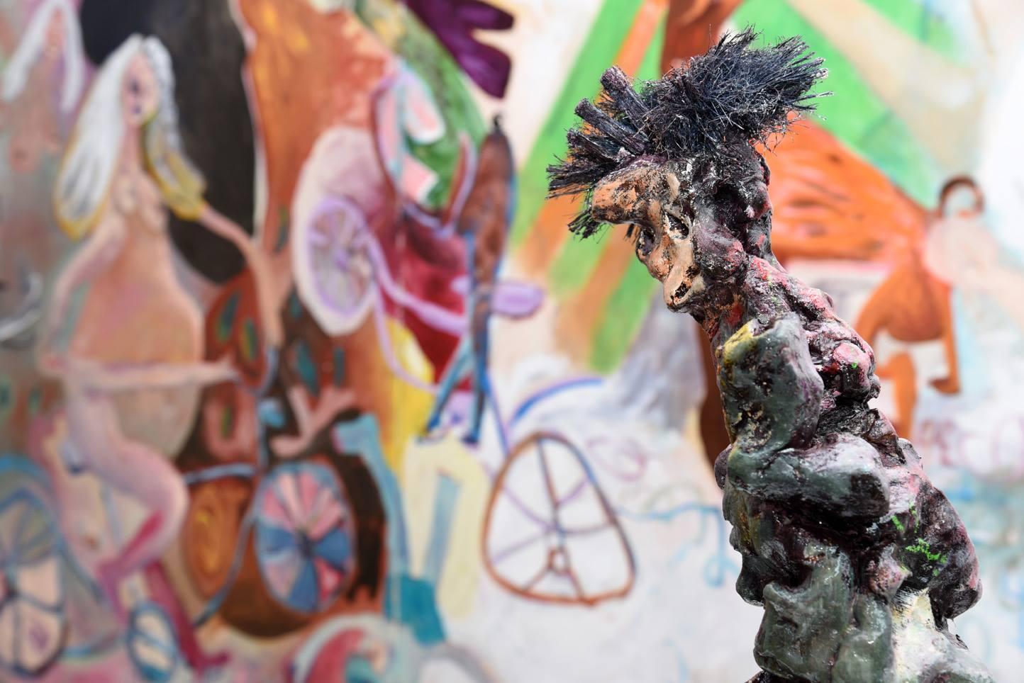 Janes Schmallenberg, 2016, installation view at Grimmuseum (1)