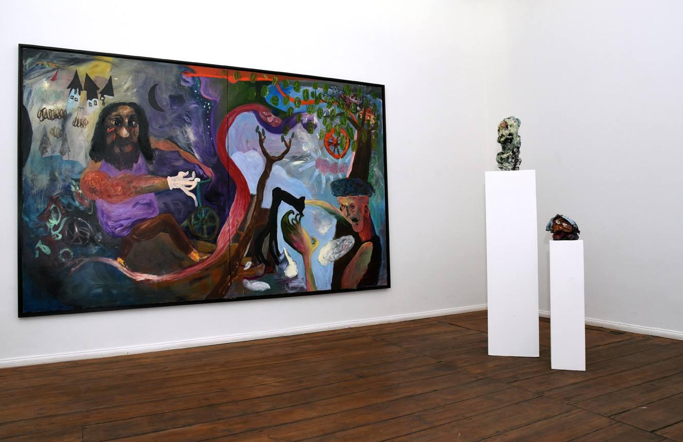 Janes Schmallenberg, 2016, installation view at Grimmuseum (3)