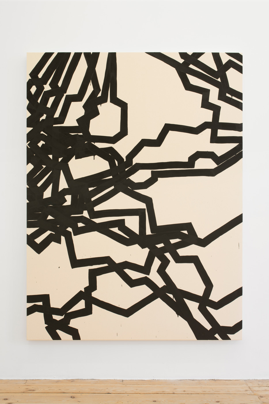 Latifa Echakhch, Derives, 2015, acrylic paint on canvas, 200 x 150 cm -2.jpg