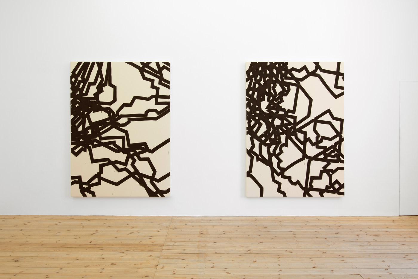 Latifa Echakhch, Derives, 2015, acrylic paint on canvas, 200 x 150 cm -3.jpg