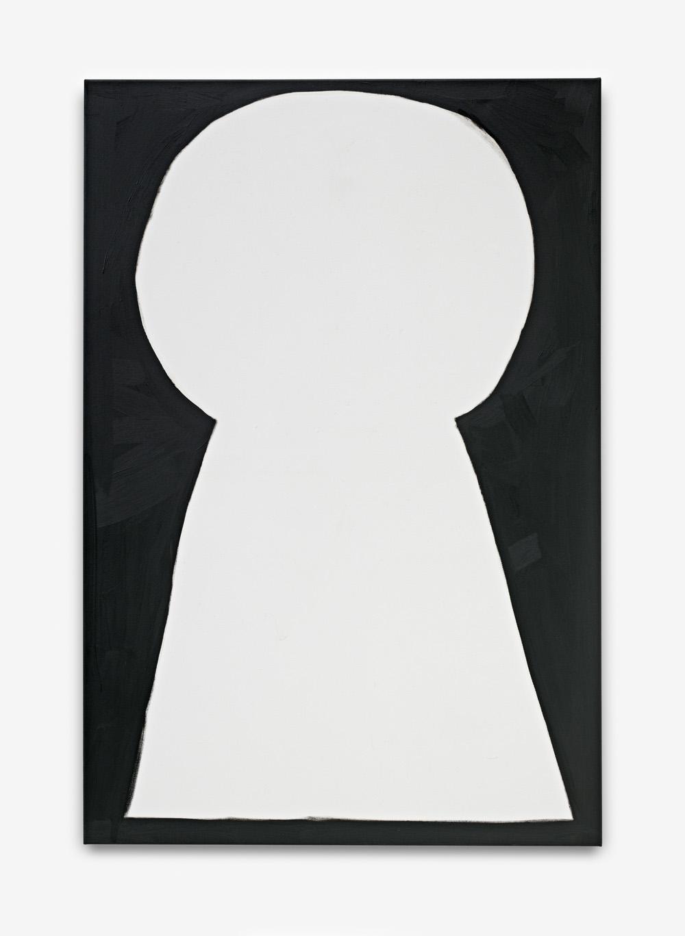 Leon Eisermann, Keyhole 1.0, 2016 oil on canvas 150 x 100 cm (3)