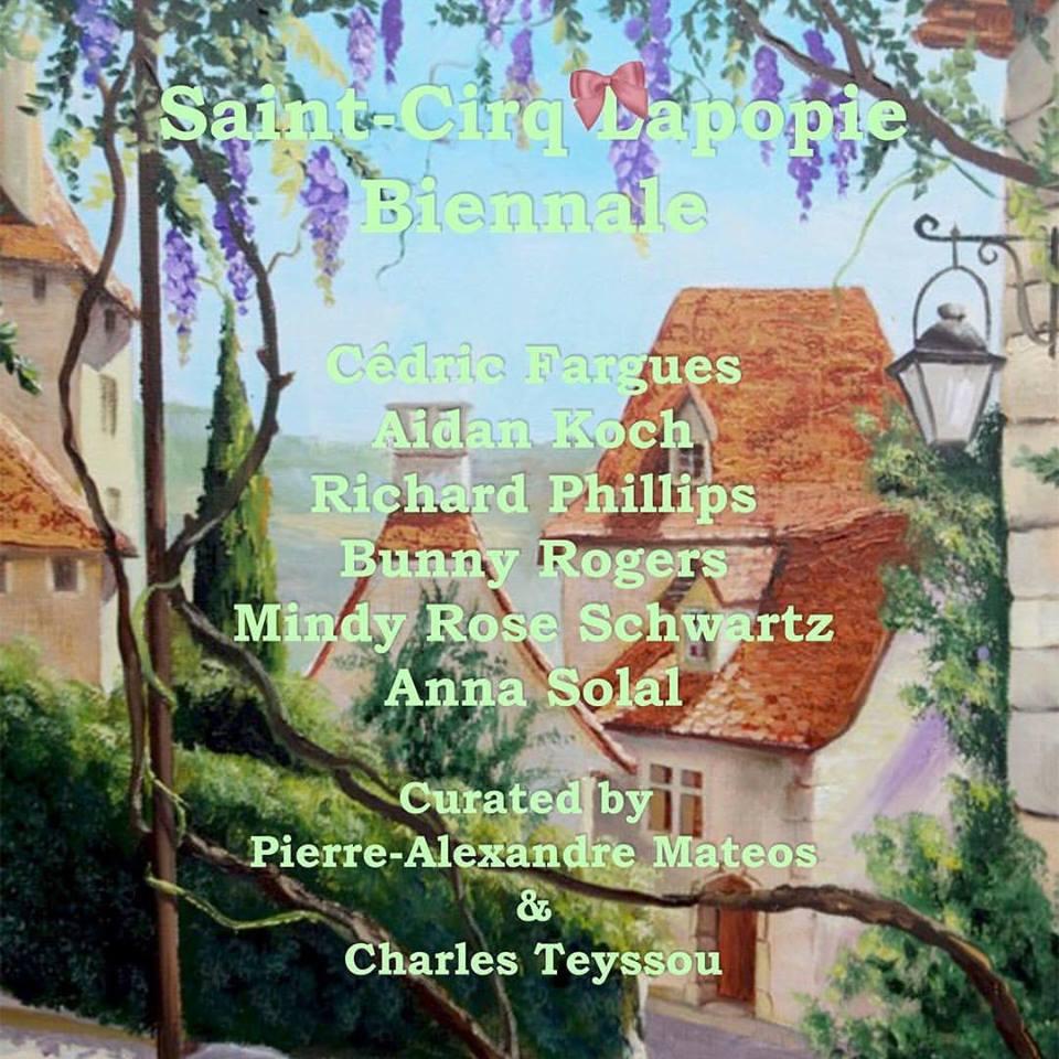 0-Poster Saint Cirq Lapopie Biennale